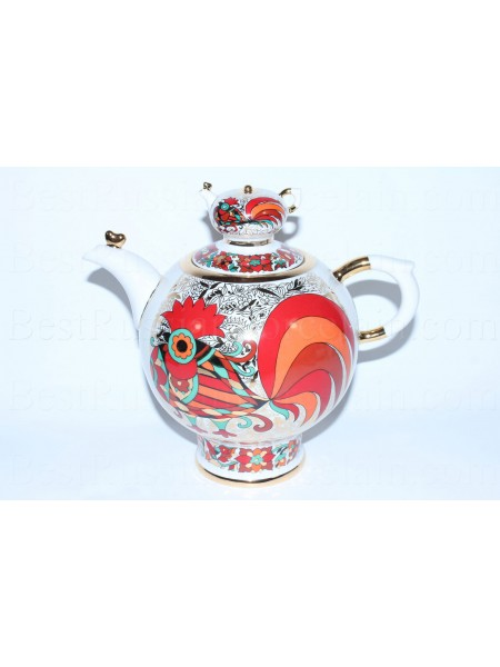 Big Teapot Red Rooster, Form Family