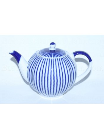 Teapot pic. Frenchman, Form Tulip