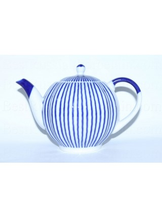 Teapot pic. Frenchman (Ripple), Form Tulip