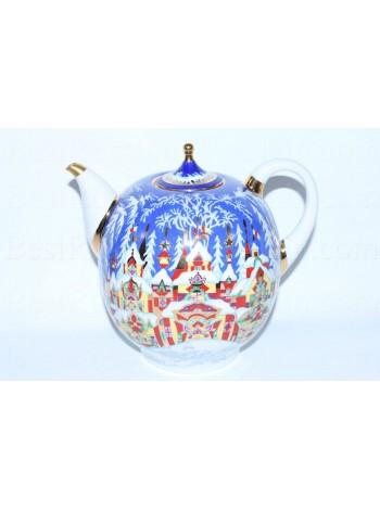 Teapot pic. Winter Tale, Form Novgorod