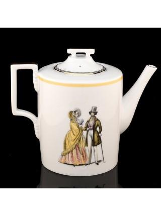 Teapot pic. Modes de Paris, Form Heraldic
