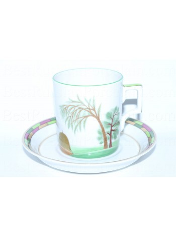 Cup and Saucer pic. Summer, Form Heraldic