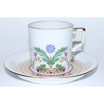 Coffee cup and saucer pic. Zamoskvorechye, Form Heraldic