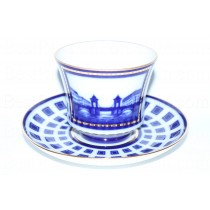 Cup and Saucer pic. Lomonosov Bridge, Form Banquet
