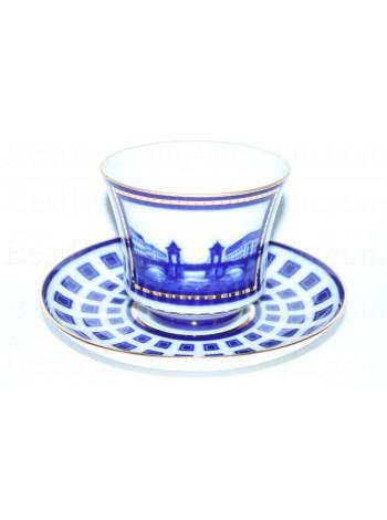 Cup and Saucer pic. Lomonosov Bridge, Form Banquet