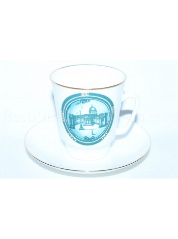 Cup and Saucer pic. St-Petersburg Kazan Cathedral, Form May