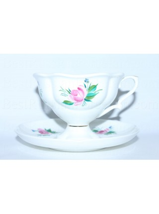 Cup and saucer pic. Chorus, Form Natasha