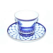 Cup and Saucer pic. Panteleymonovsky (Pestel) Bridge, Form Banquet