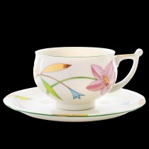 Cup and Saucer pic. Laurencia Flower, Form Kostroma