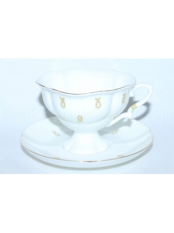 Cup and saucer pic. Eyelets, Form Natasha
