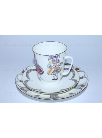 Trio set: cup, saucer and dessert plate pic. Sleeping Beauty, Form May