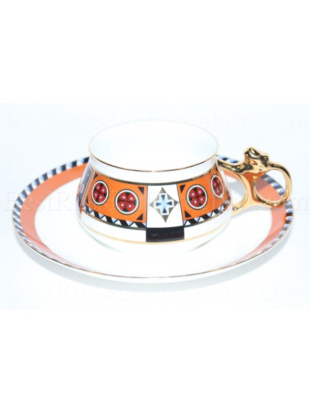 Cup and Saucer pic. Vasilisa Form Bilibin