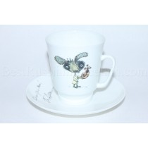 Cup and Saucer pic. Fitjul'ka Form May