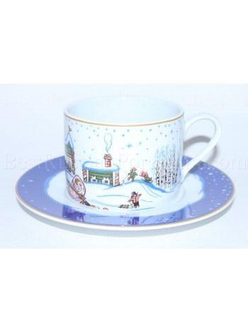 Cup and Saucer pic. Snow History, Form Pole