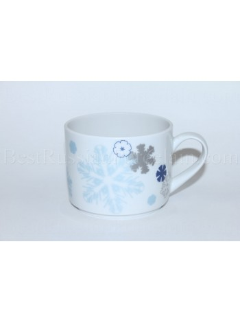 Cup pic. Snowflakes, Form Balance