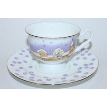Cup and Saucer pic. Snowfall Form Isadora