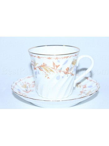 Cup and saucer pic. Karelia, Form Twisted