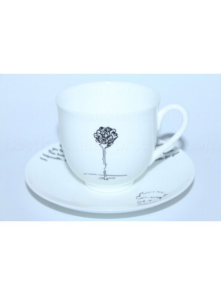 Cup and Saucer pic. Little Prince - Rose(English Version), Form Lily of the valley