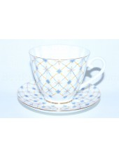 Cup and Saucer pic. Retro, Form Carnation