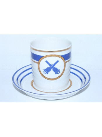 Cup and saucer pic. Wardroom 6, Form Heraldic