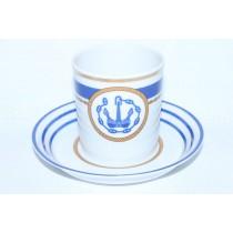 Cup and saucer pic. Wardroom 1, Marine Boatswain, Form Heraldic
