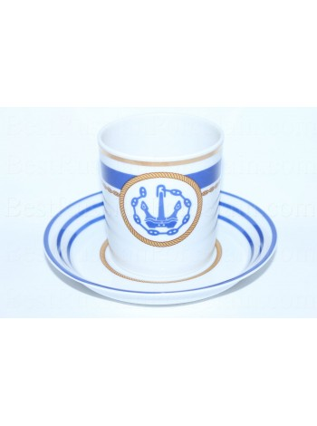 Cup and saucer pic. Wardroom 1, Form Heraldic