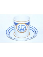 Cup and saucer pic. Wardroom 1, Marine Boatswain, Form Heraldic