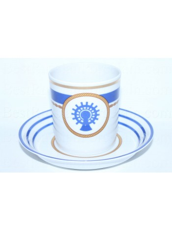 Cup and saucer pic. Wardroom 5, Form Heraldic