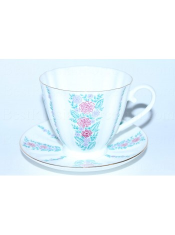 Cup and Saucer pic. Marguerites, Form Carnation