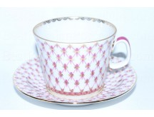 Cup and saucer pic. Net Blues, Form Youth
