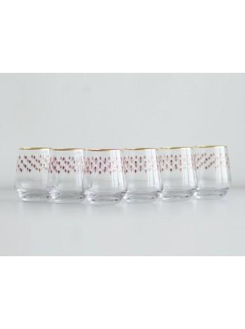 Set 6 Glasses for Whiskey pic. Net Bordeaux