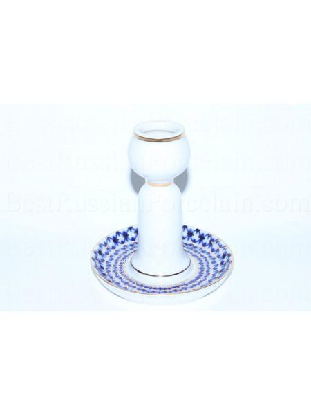 Candlestick pic. Cobalt Net, Form Bud