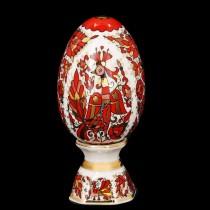 Easter Egg pic. Russian Ornament, Form Egg