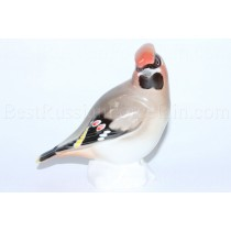 "Sculpture Bird Waxwing (Sviristel-2), big (Height 4.72"")"