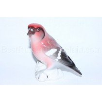 Sculpture Bird Crossbill White-Winged