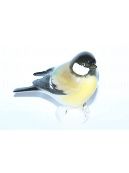 Sculpture Bird Titmouse (Black)