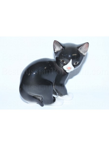 Sculpture Black Cat