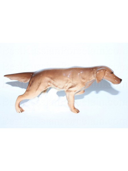 Sculpture Dog Irish Setter