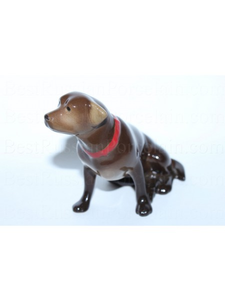 Sculpture Dog Labrador (Chocolate)