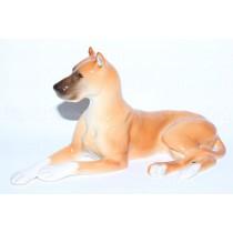 Sculpture Dog Brown Mastiff