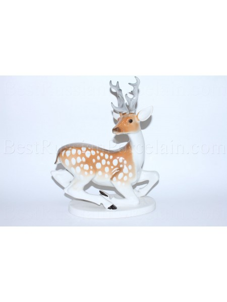 Sculpture Deer or Doe with horns