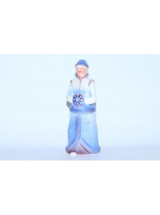 Sculpture Snow Maiden, pic. Blizzard, Blue