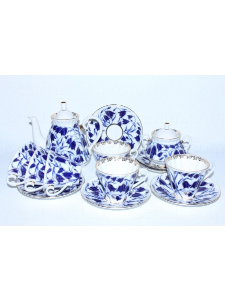 Tea Set pic. Bluebells 6/14 Form Radiant