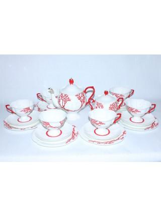Tea Set pic. Coral 6/20, Form Natasha