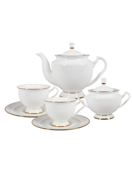 Tea Set pic. Golden Ribbon 6/14, Form Isadora