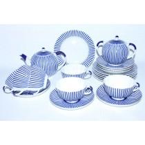 Tea Set pic. Frenchman (Ripple) 6/20, Form Tulip