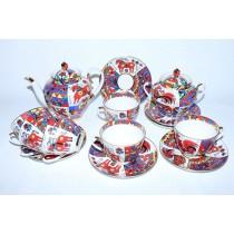 Tea Set pic. National patterns 6/14, Form Spring