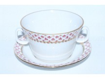 Cup and saucer for broth (soup) pic. Net Blues, Form Youth
