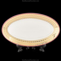 Oval dish pic. Zamoskvorechye, form Youth