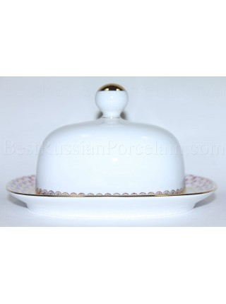 Butter Dish pic. Net Blues, Form Rectangular